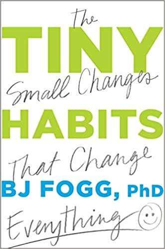 Tiny Habits: The Small Changes That Change Everything - Recommended Book Thumbnail