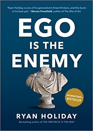 Ego is the Enemy - Recommended Book Thumbnail