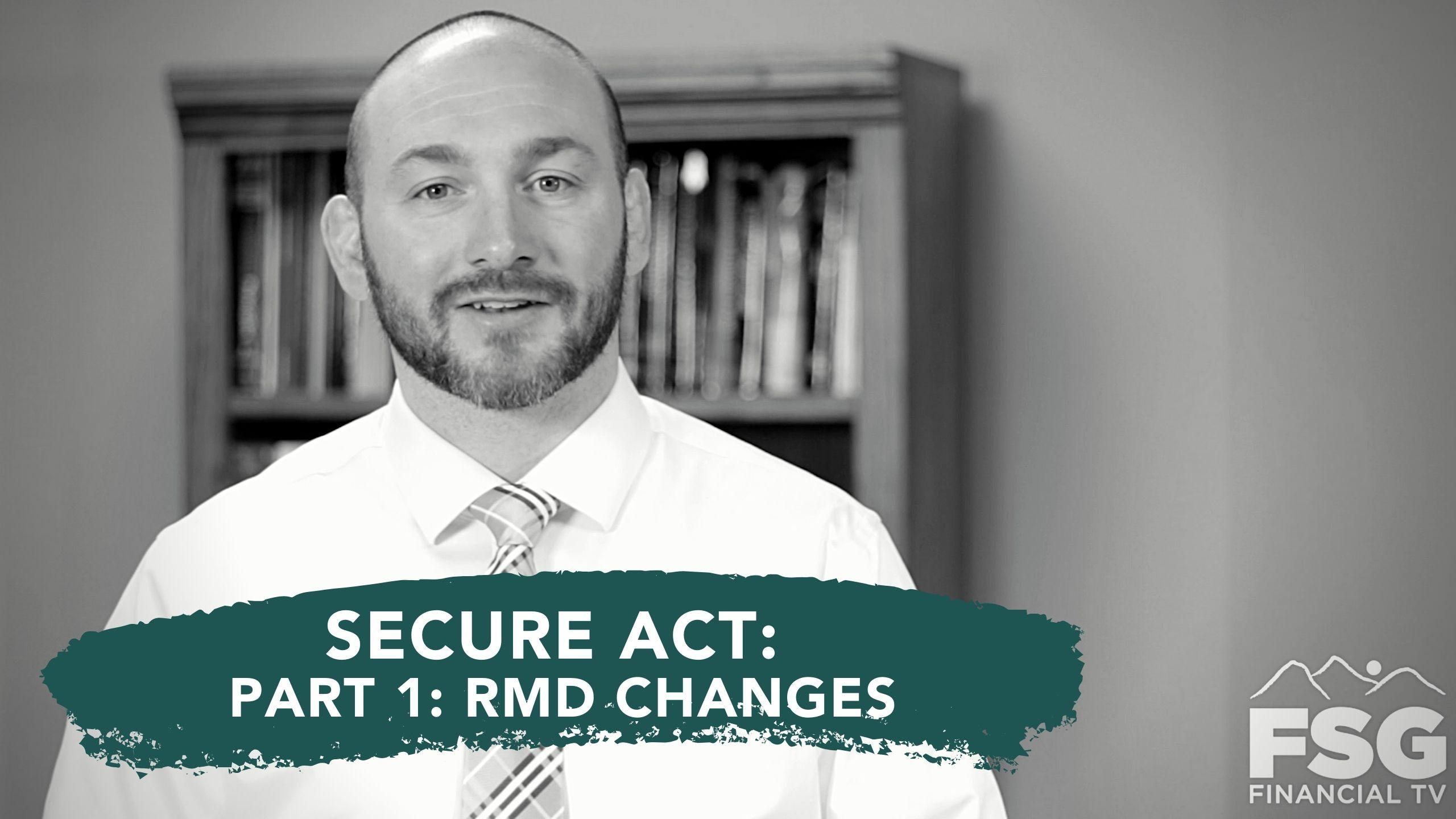 Educational Moment: Secure Act: Part 1- RMD Changes Thumbnail