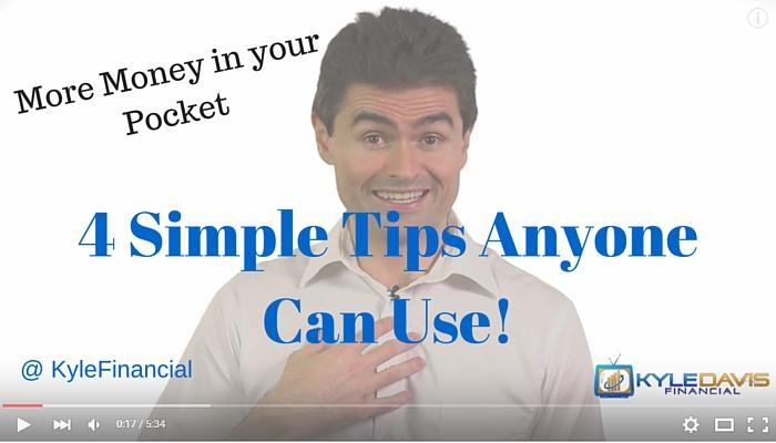 Financial Literacy – 4 Simple Tips to More Money! Part 1 Thumbnail
