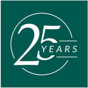 25 years of business helping management wealth
