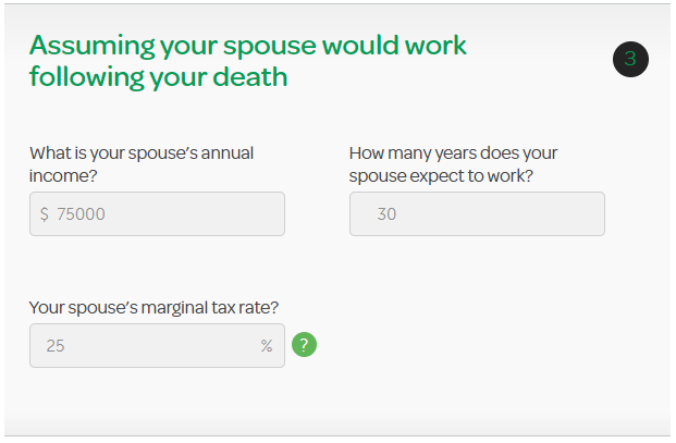 do i need life insurance if my spouse works