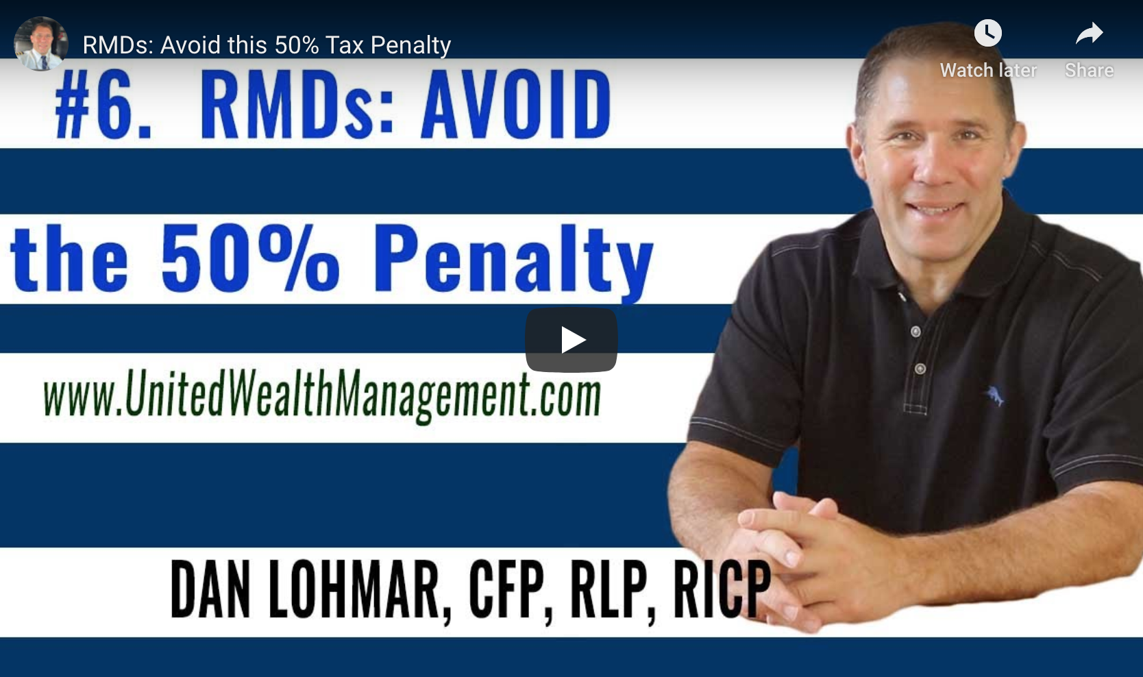 RMDs and Avoiding this 50% Penalty Thumbnail