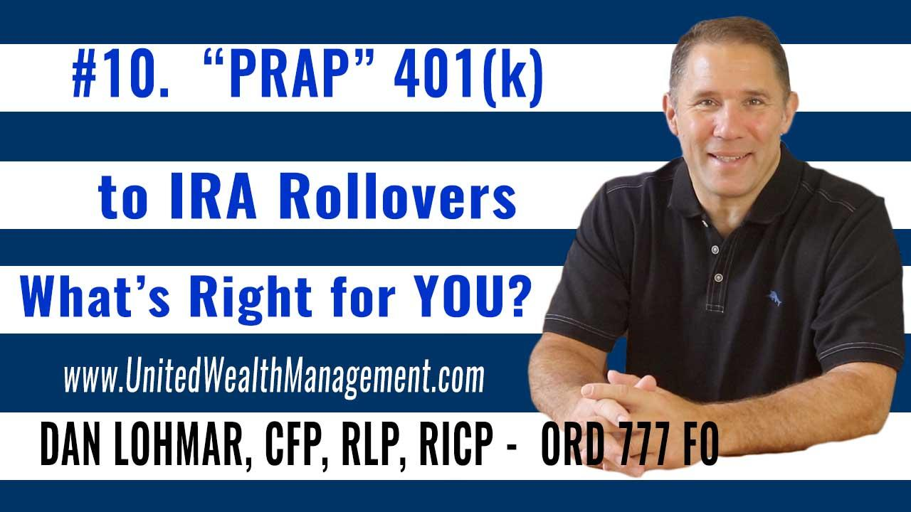 PRAP to IRA Rollovers. What's right for you? Thumbnail