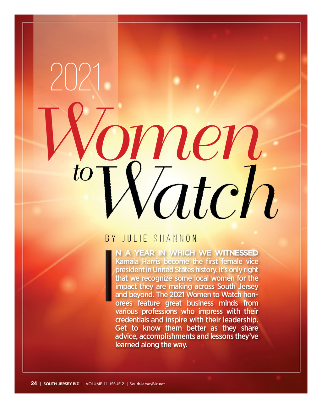 2021 Women to Watch - Tamara Kukainis Thumbnail