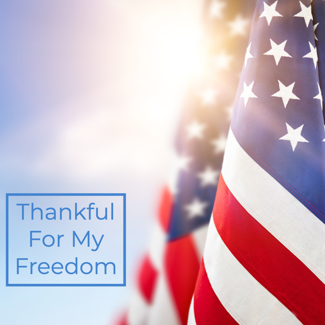 Thankful For My Freedom Thumbnail
