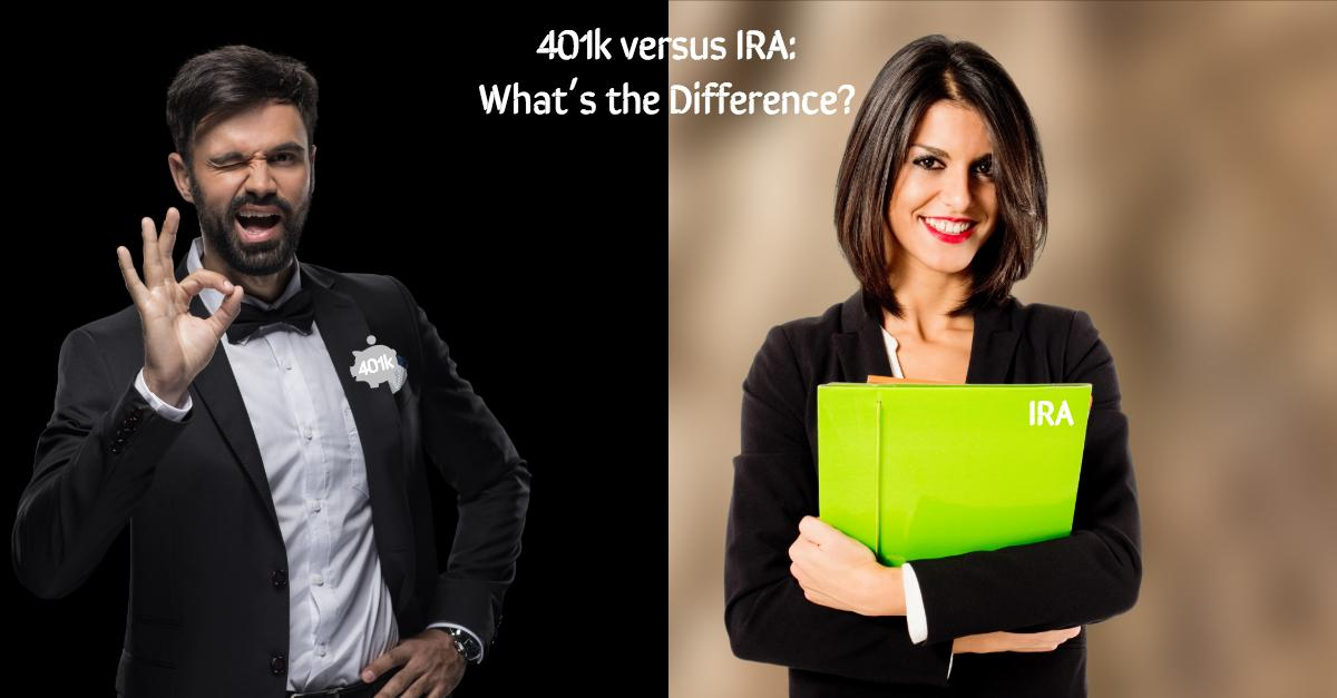 What is the Difference Between a 401k and an IRA? Thumbnail