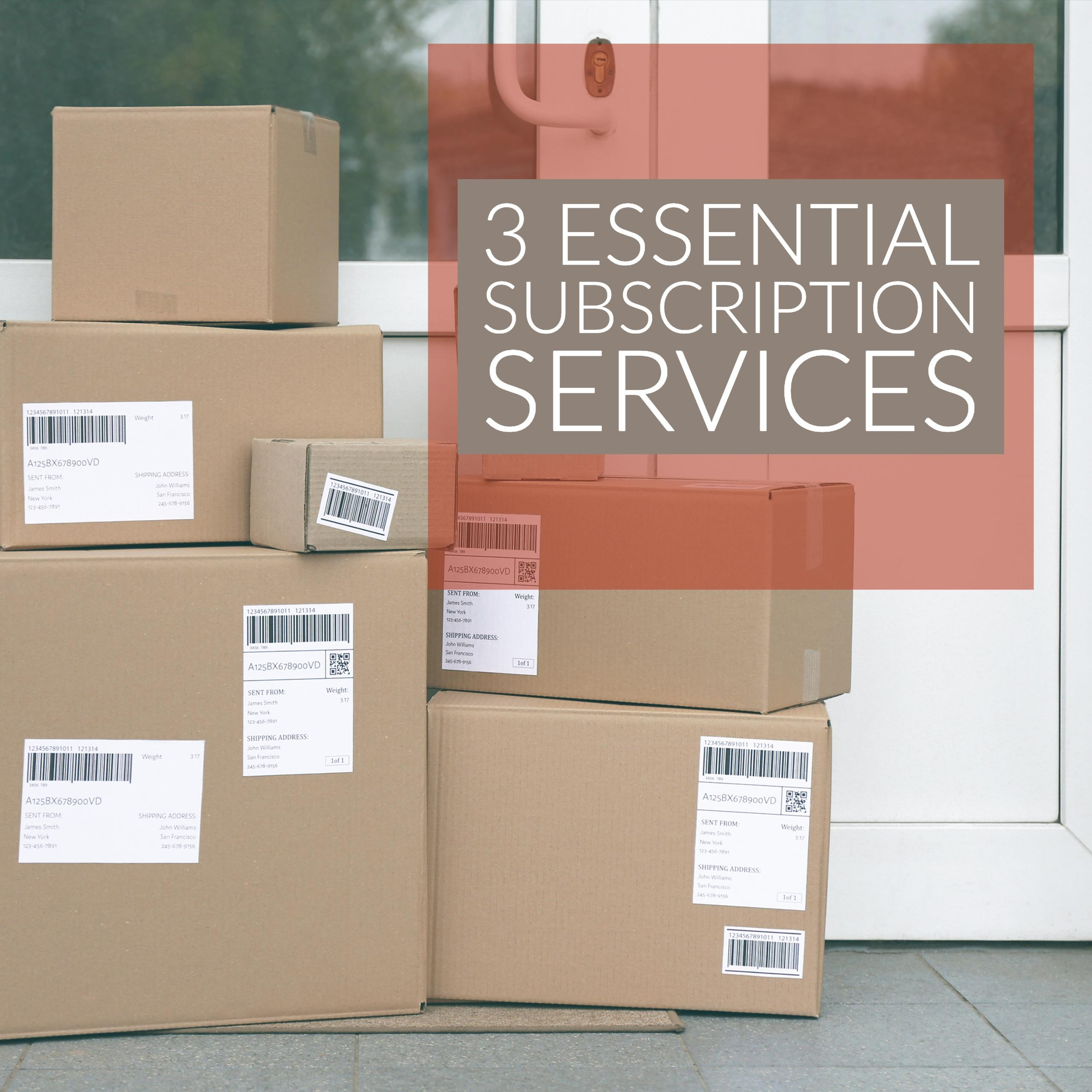 3 Essential Subscription Services That I Use Thumbnail