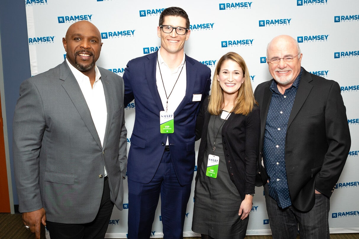 team photo with dave Ramsey