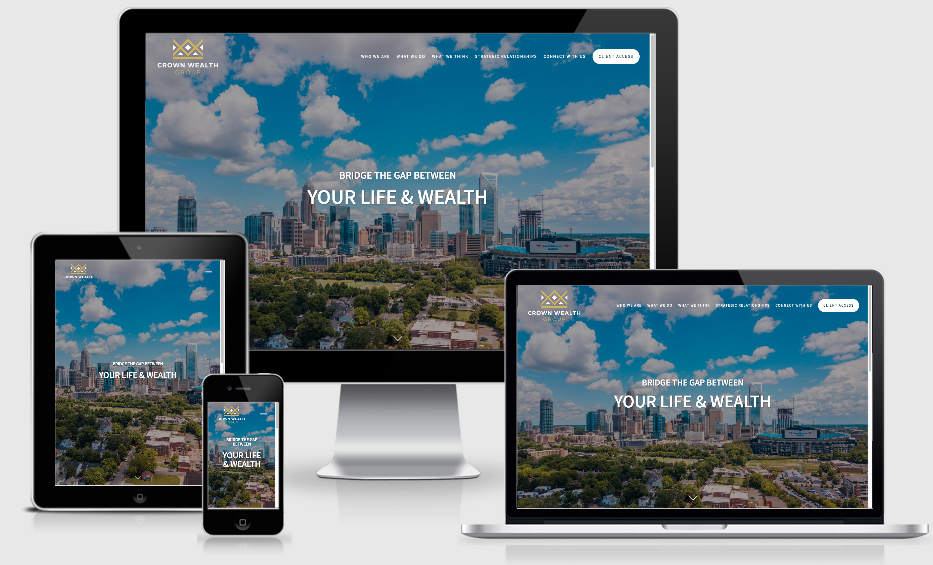 Advisor Website Showcase: Crown Wealth Group Thumbnail