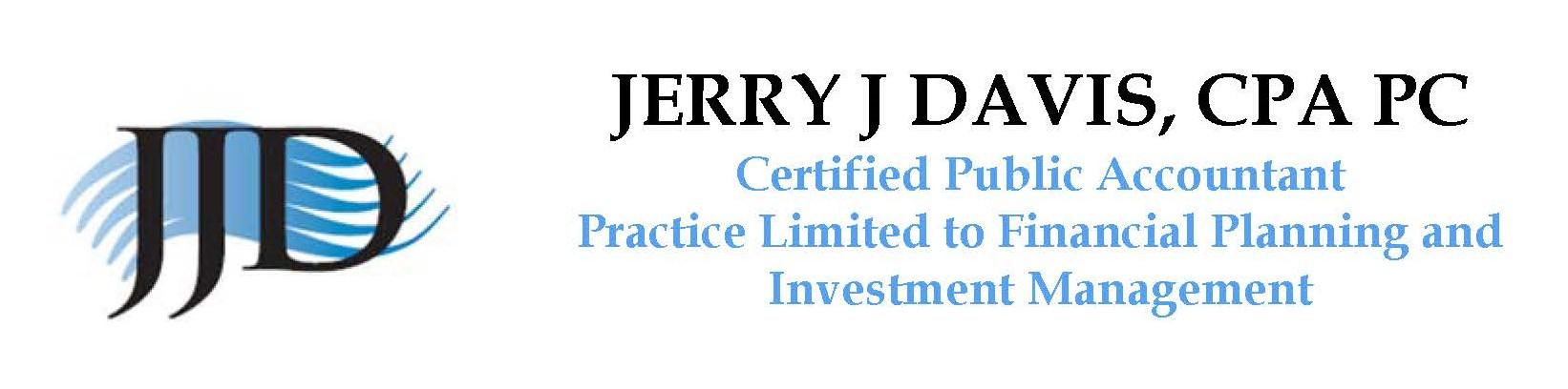 Logo for Jerry J. Davis, CPA, PC - Financial Planning Advisor