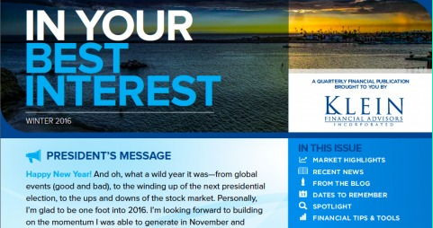 In Your Best Interest: Our Q4 2015 Newsletter Thumbnail