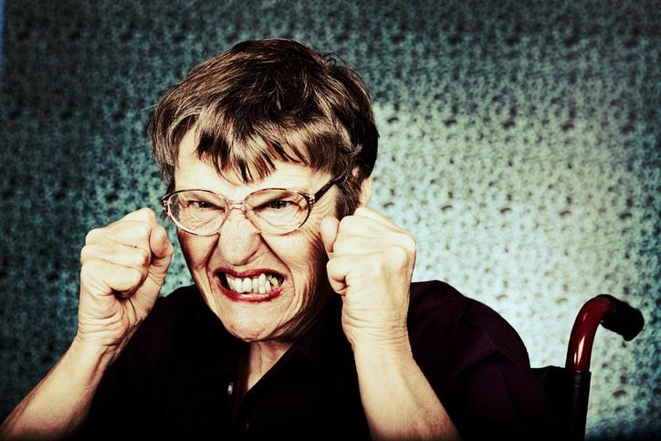 When grandma fights back: the challenge of caring for combative dementia patients Thumbnail