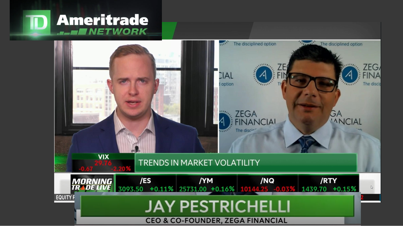 Jay Discussed Volatility and Fed Activity with TD Ameritrade Thumbnail