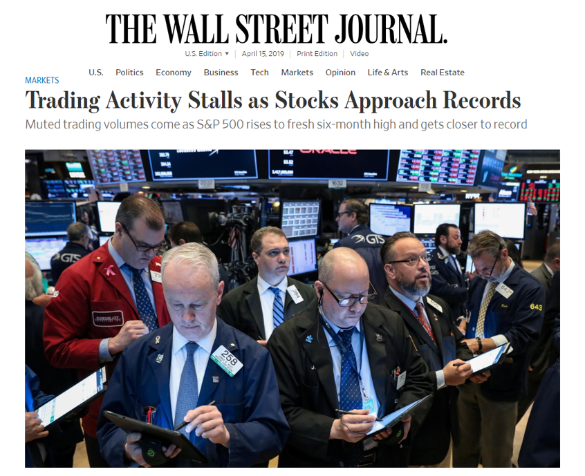 The Wall Street Journal Discusses Volume with ZEGA Thumbnail