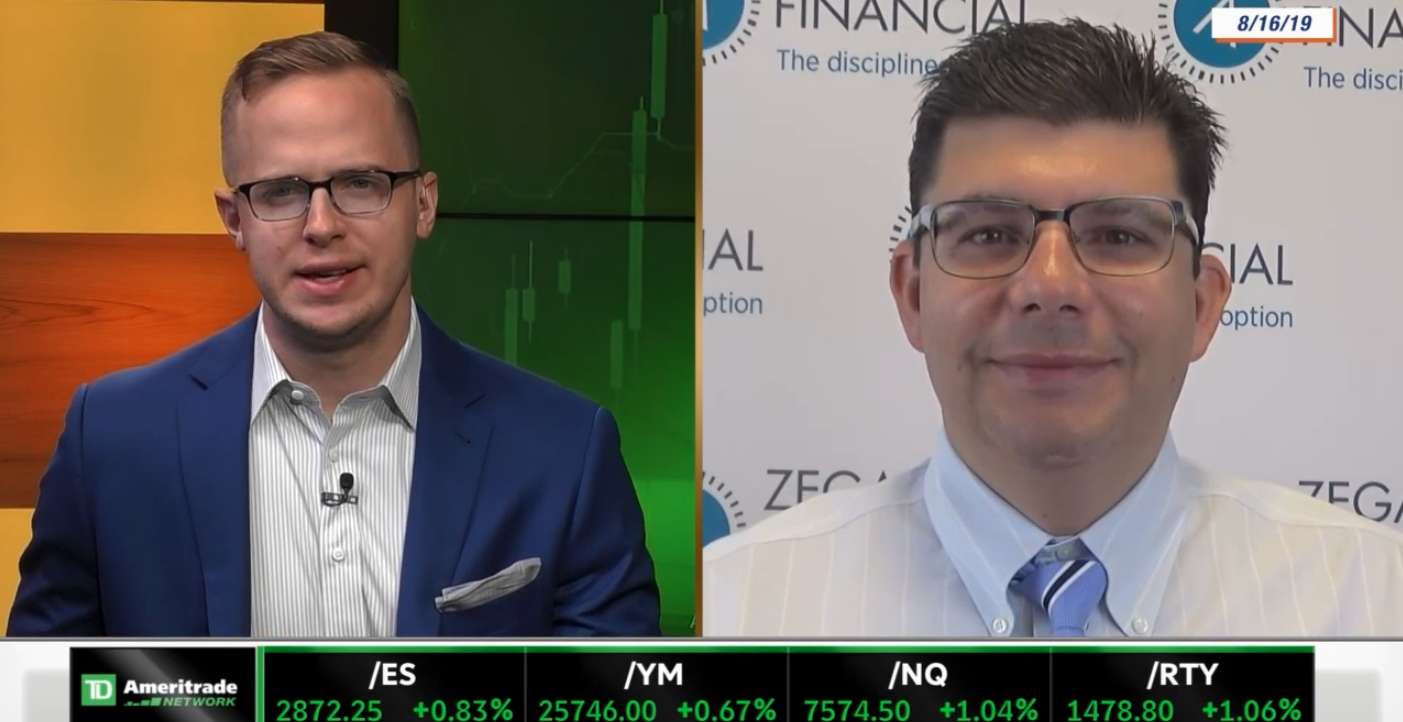 Discussing Heightened Volatility with TD Ameritrade Network Thumbnail