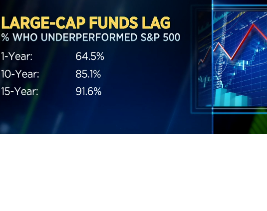 CNBC's Bob Pisani Points Out Most Equity Managers Underperformed: Want to Know One That Didn't? Thumbnail