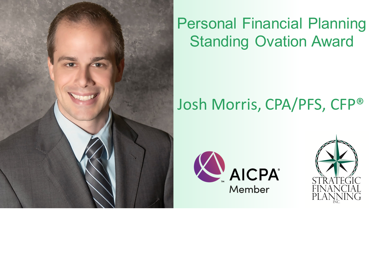AICPA Honors Josh Morris with Standing Ovation Award Thumbnail