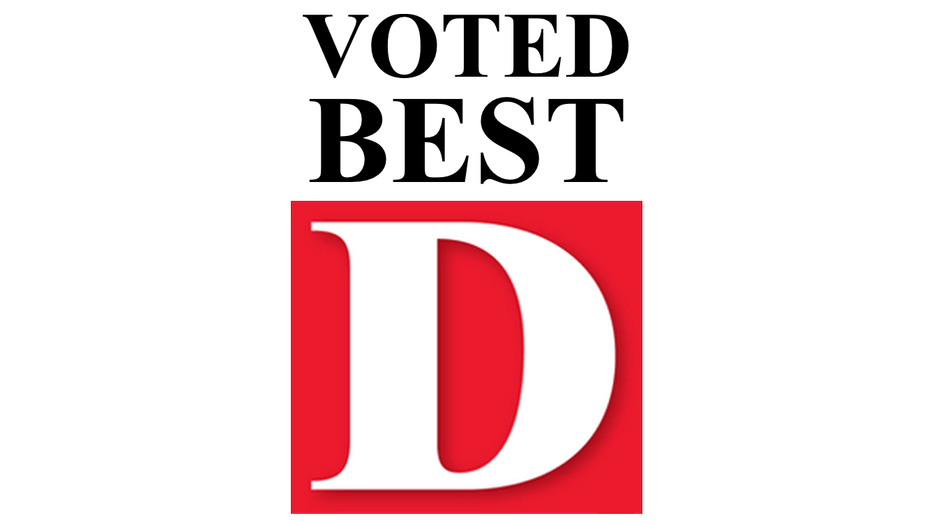 D Magazine Voted Best logo