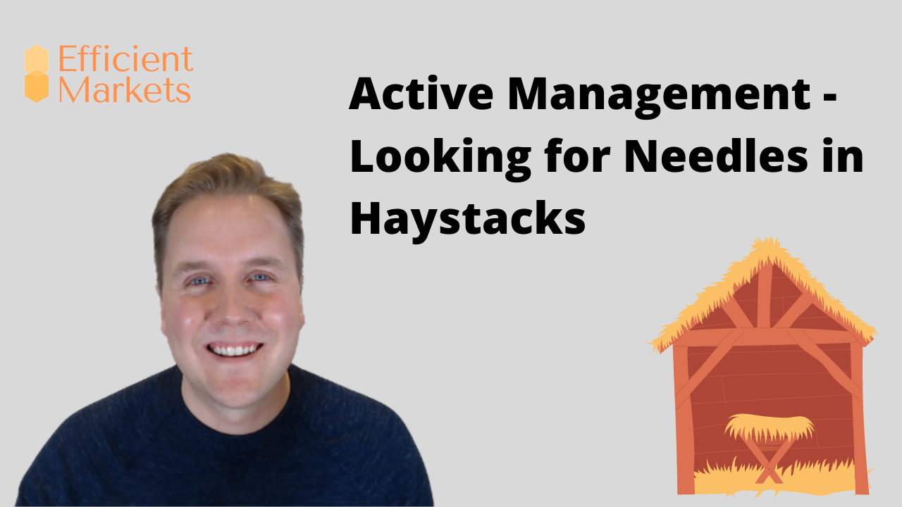 Efficient Markets - Active Management - Looking for Needles in Haystacks Thumbnail