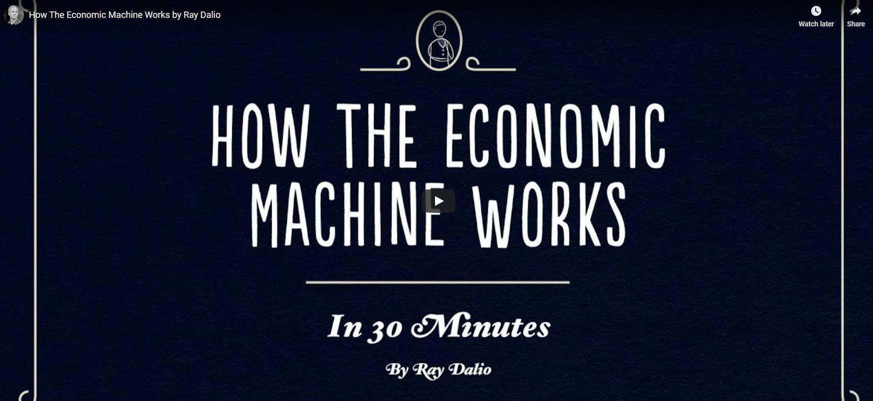 How the Economic Machine Works - in 30 minutes Thumbnail