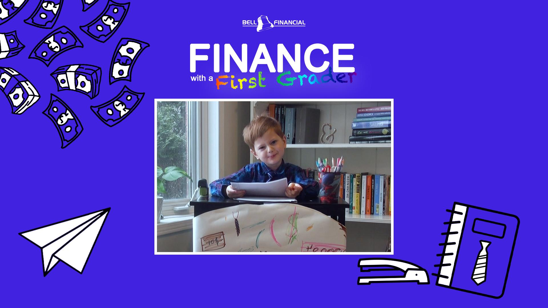 Finance With A First Grader - What is Money and How Do I Save It? Thumbnail