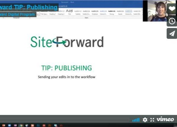 Don't forget to hit PUBLISH! (3:58min) Thumbnail