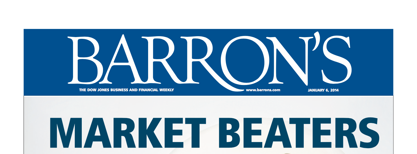 "Barron's Article ""Market Beaters"" Thumbnail"