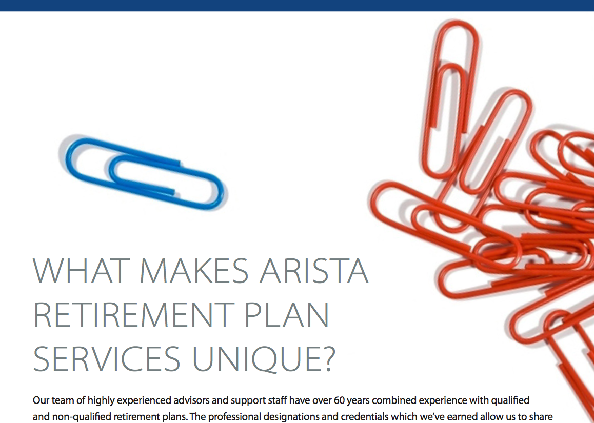 What Makes Arista Wealth's Retirement Plan Services Unique? Thumbnail