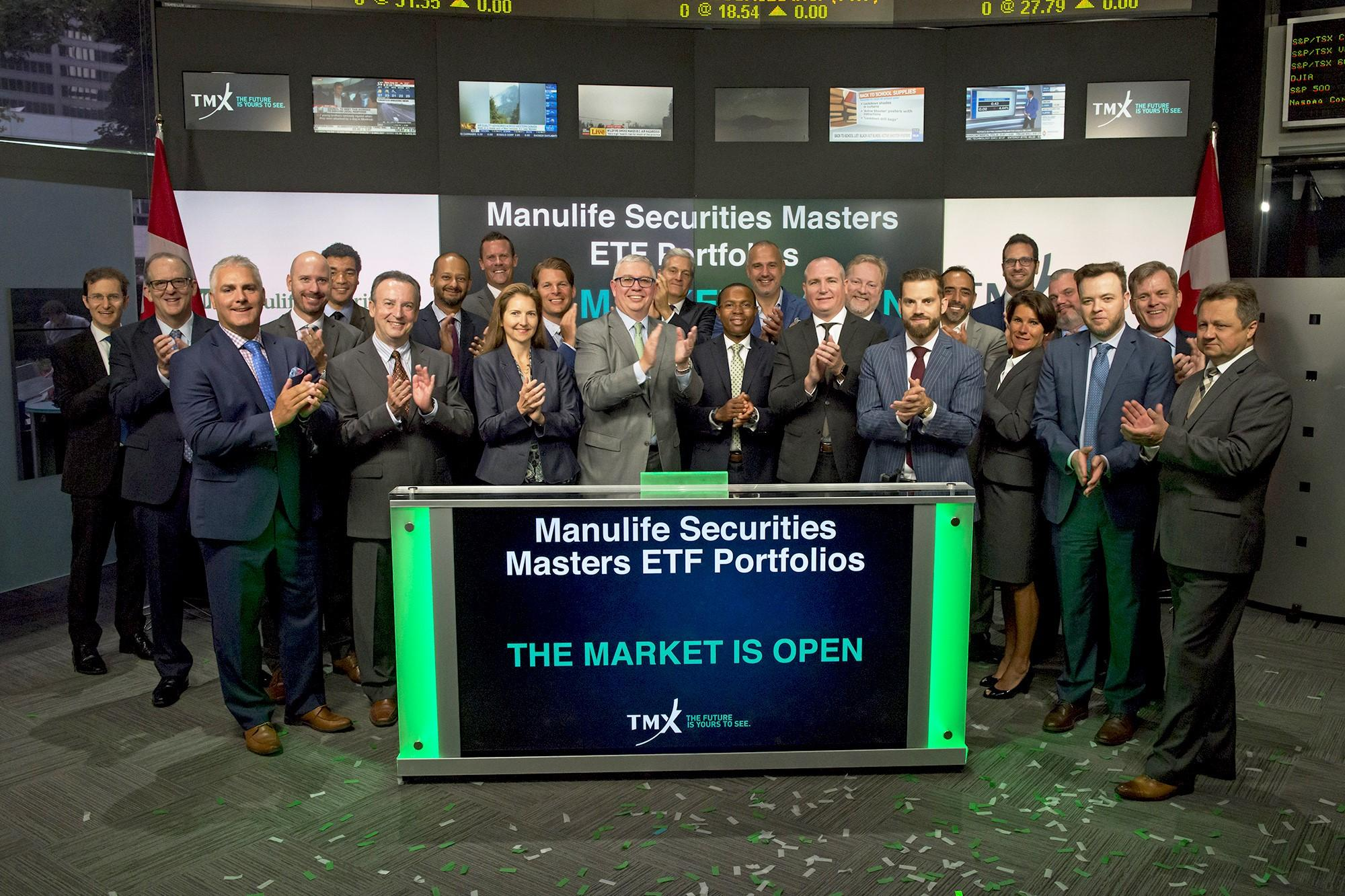 Ringing the TSX bell with Manulife Securities   Thumbnail