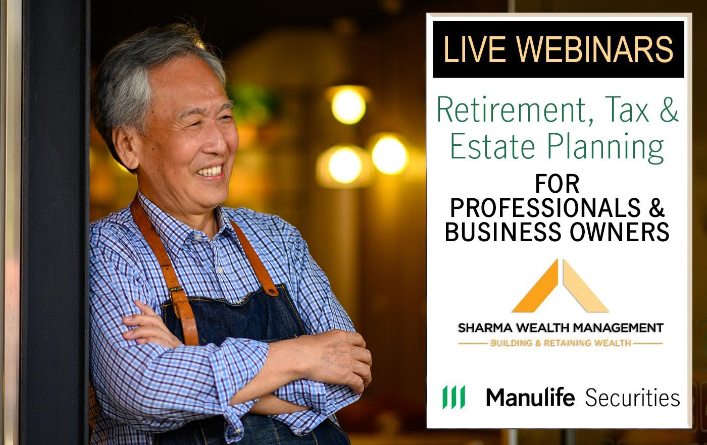 Retirement, Tax & Estate Planning for Professionals & Business Owners Thumbnail