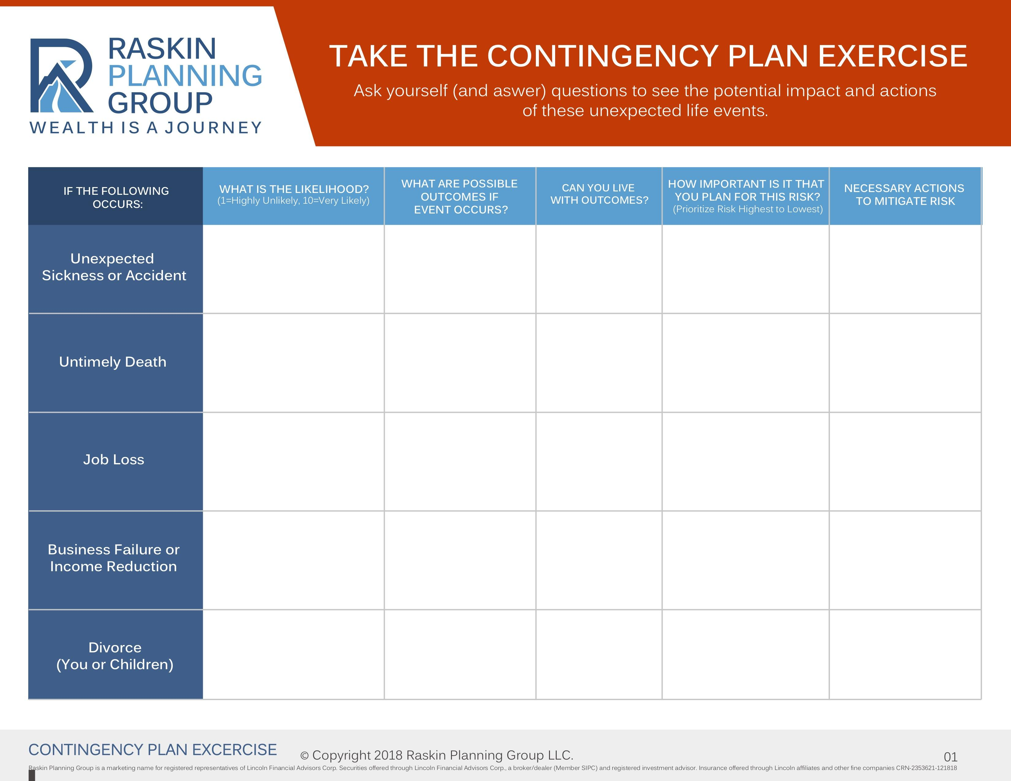 Contingency Plan Exercise Thumbnail