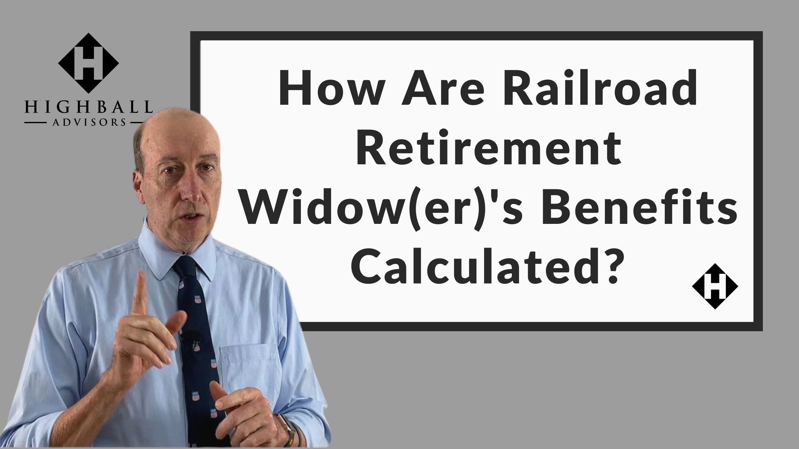 How Are Railroad Retirement Widow(er)'s Benefits Calculated? Thumbnail