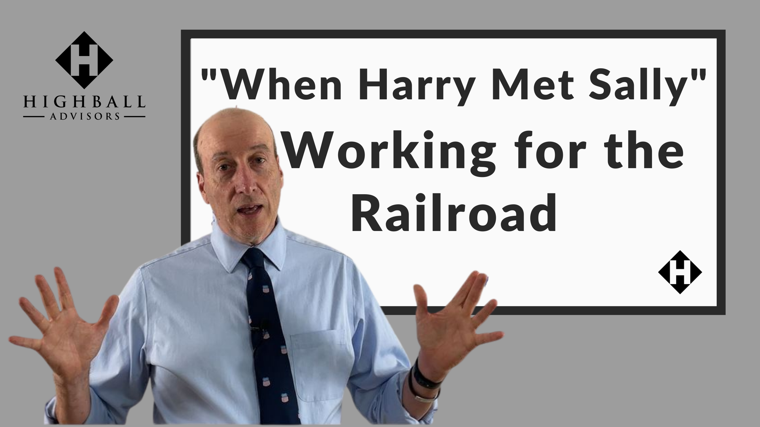 When Harry Met Sally Working for the Railroad Thumbnail