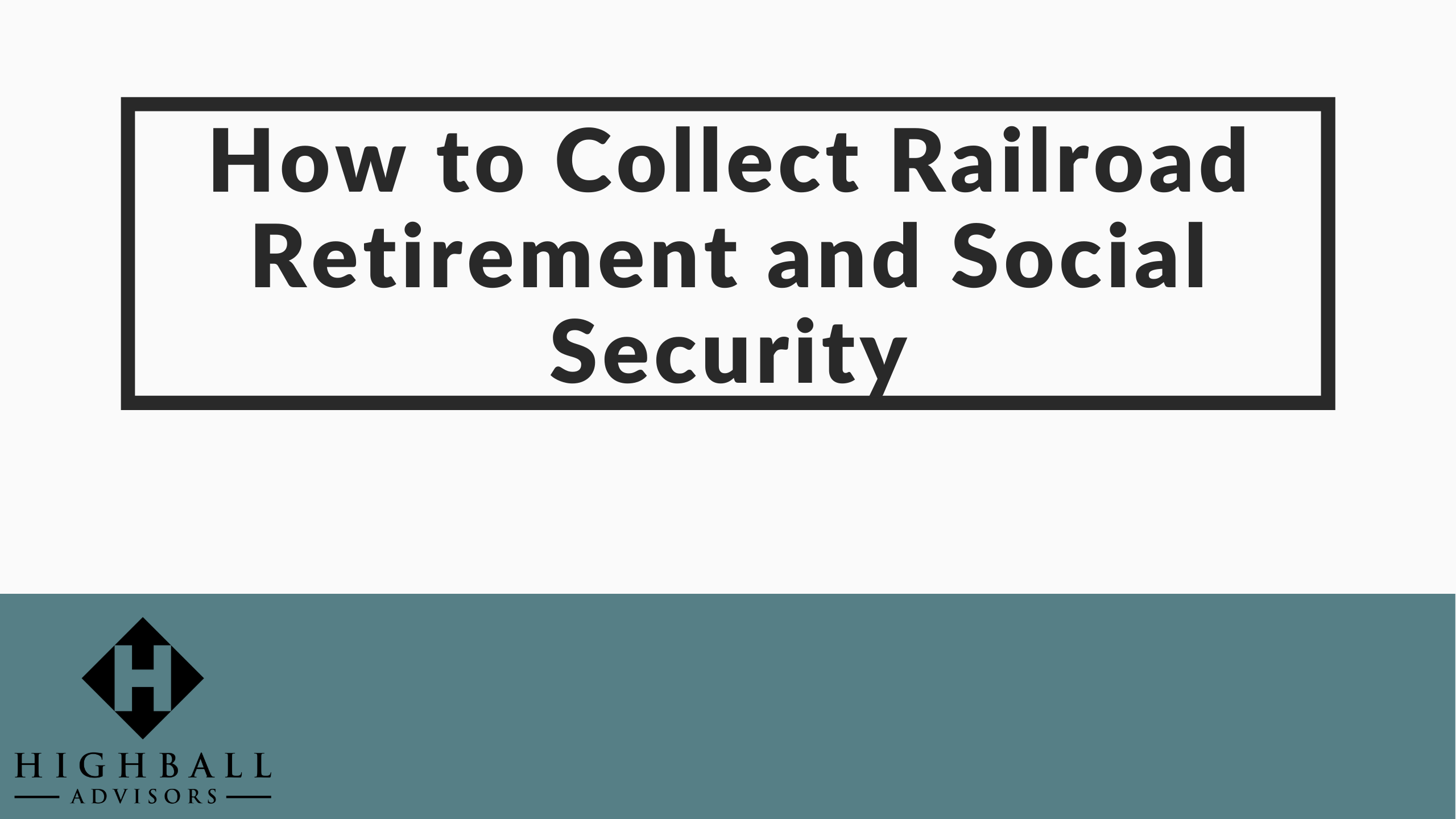 VIDEO: How to Collect Railroad Retirement and Social Security Thumbnail