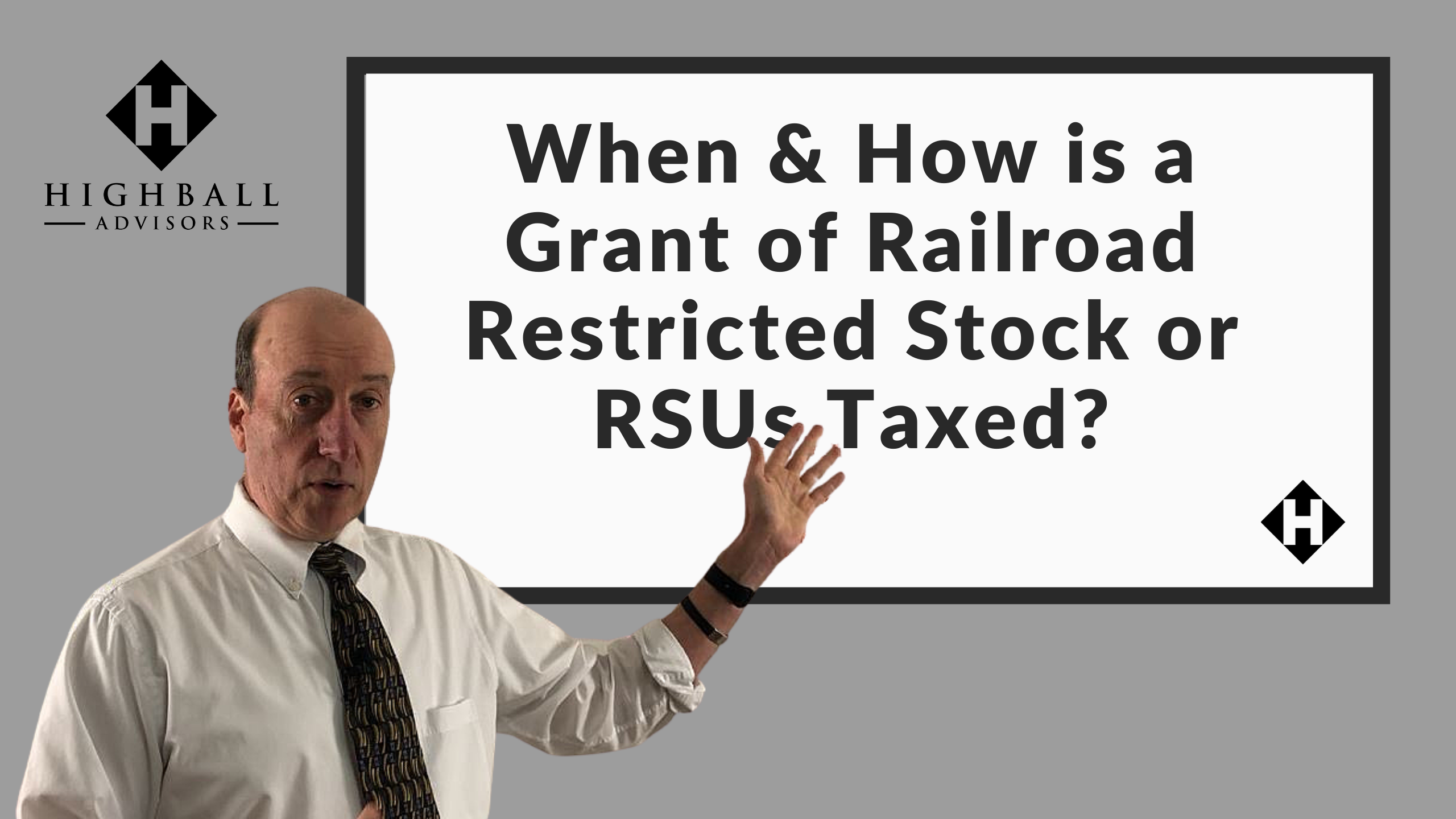 When & How is a Grant of Railroad Restricted Stock or RSUs Taxed? Thumbnail