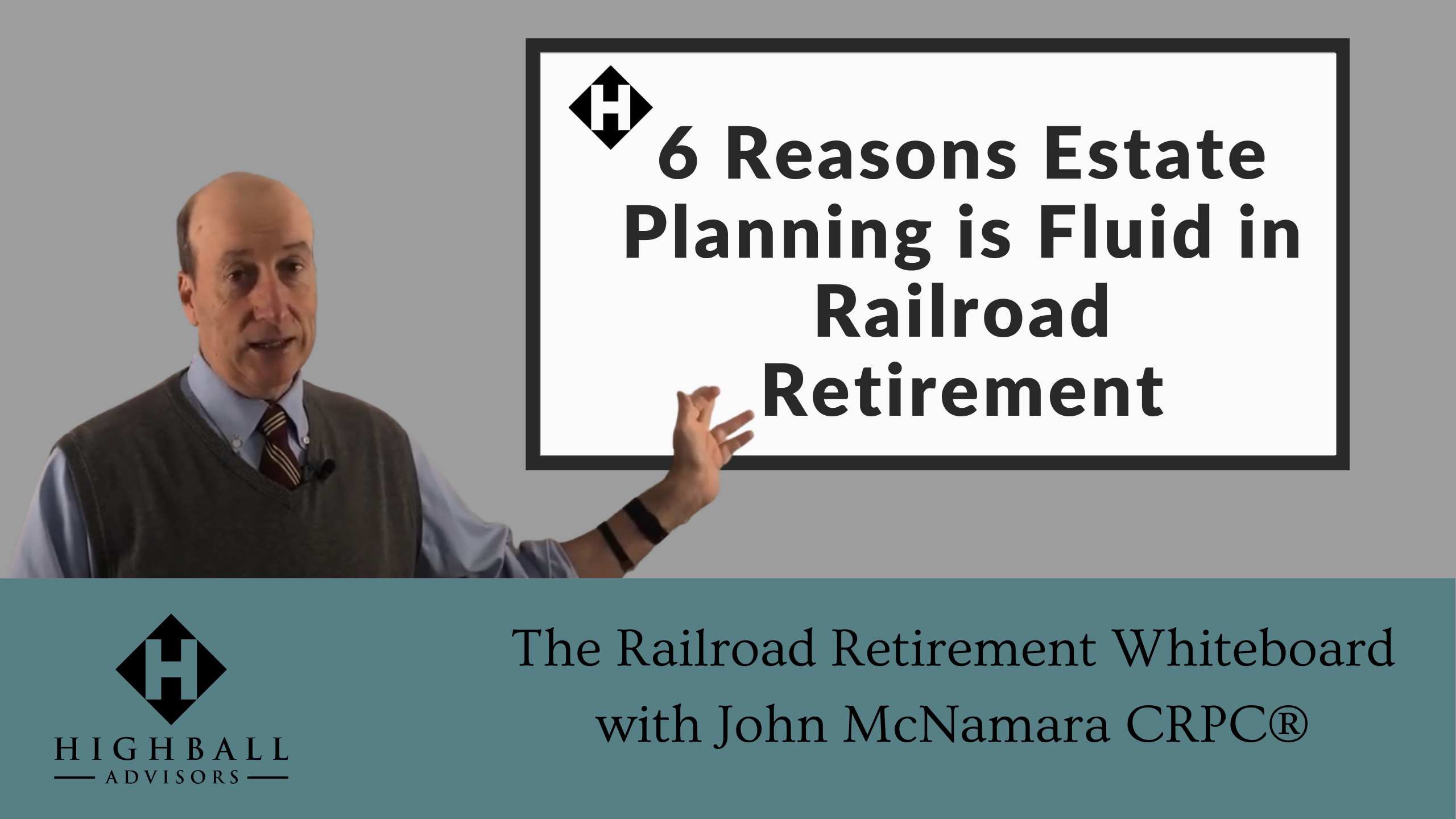 6 Reasons Estate Planning is Fluid in Railroad Retirement Thumbnail