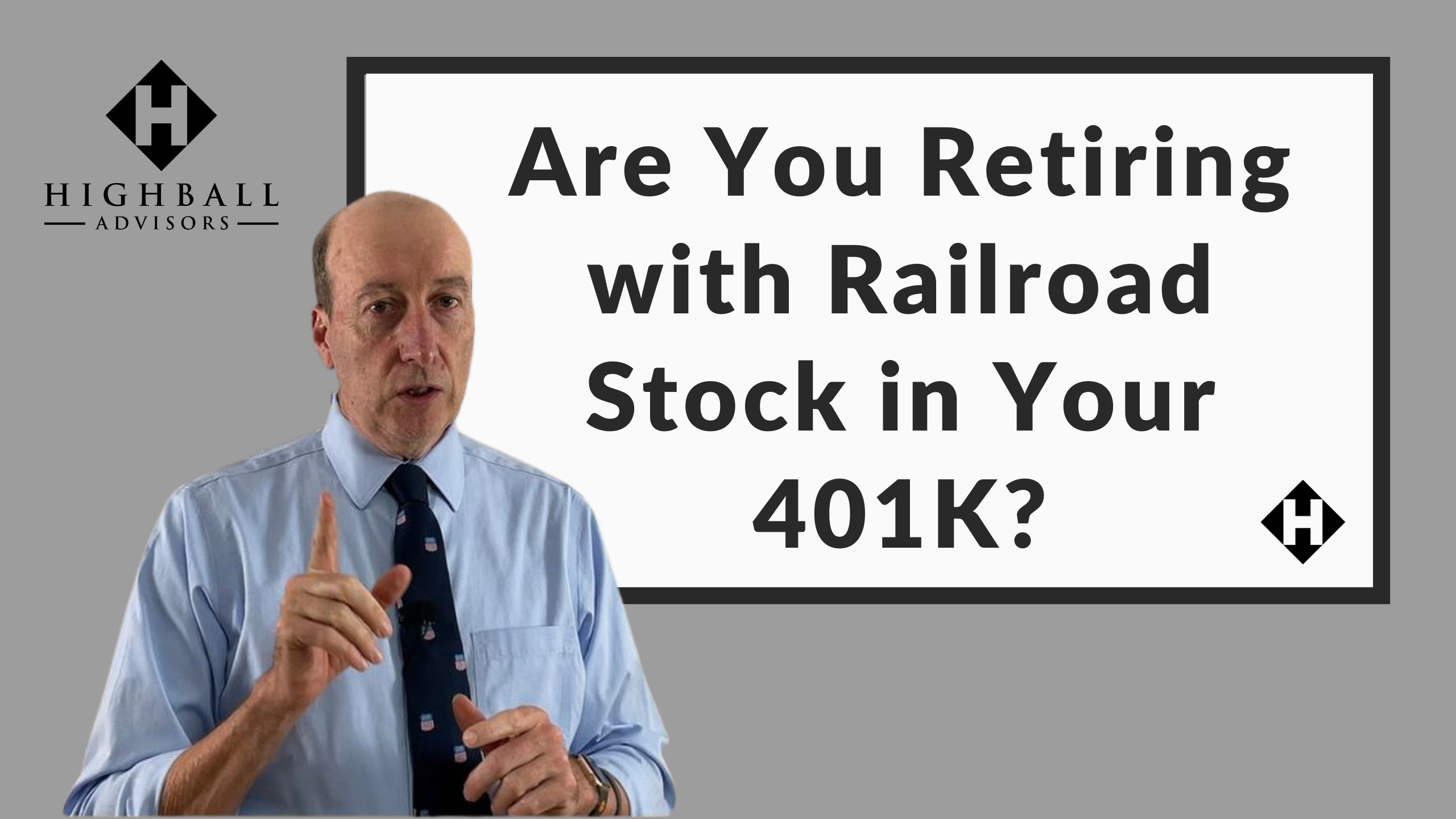 Are You Retiring With Railroad Stock in Your 401K? Thumbnail