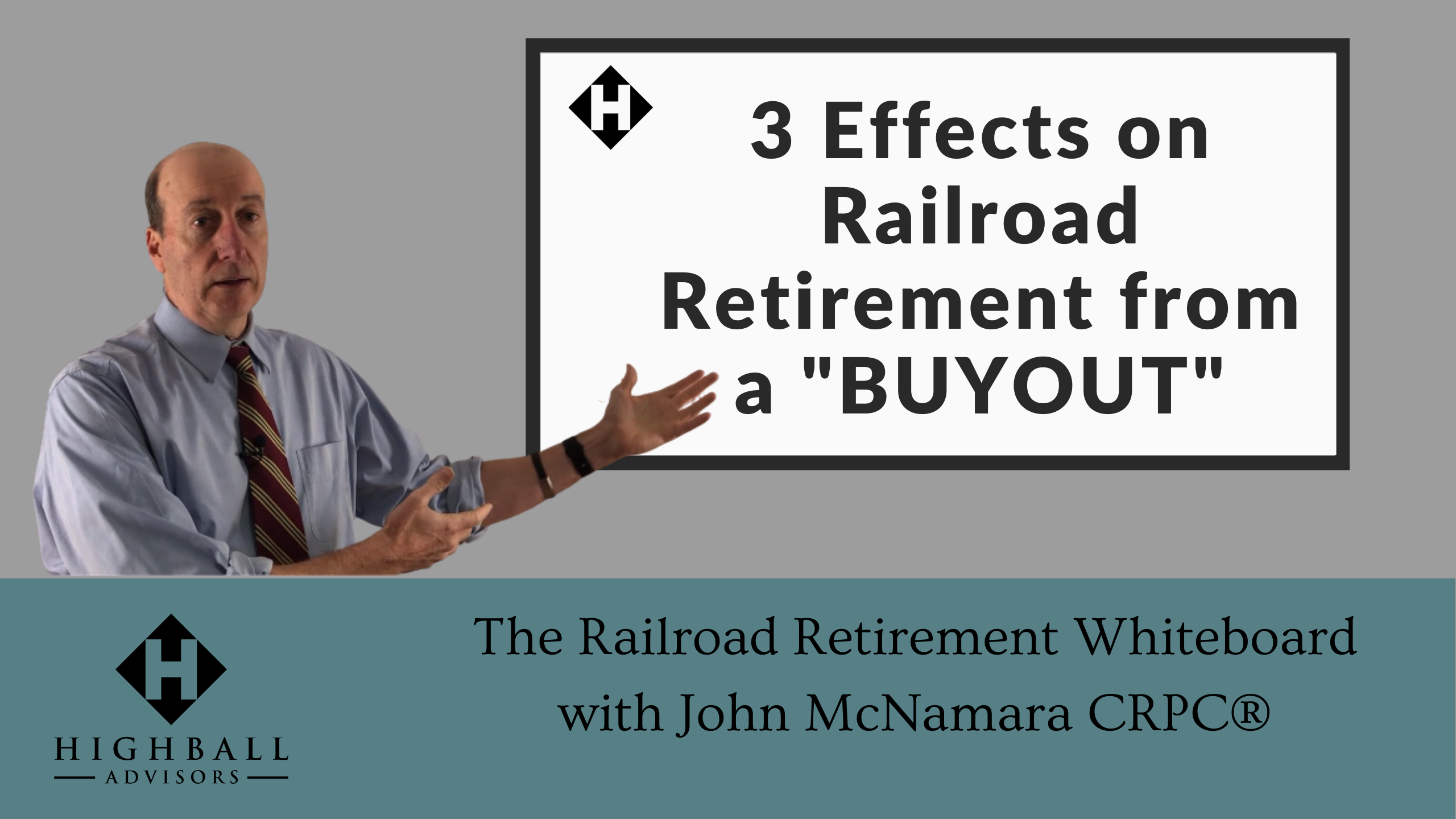 "3 Effects on Railroad Retirement From a ""BUYOUT"" Thumbnail"