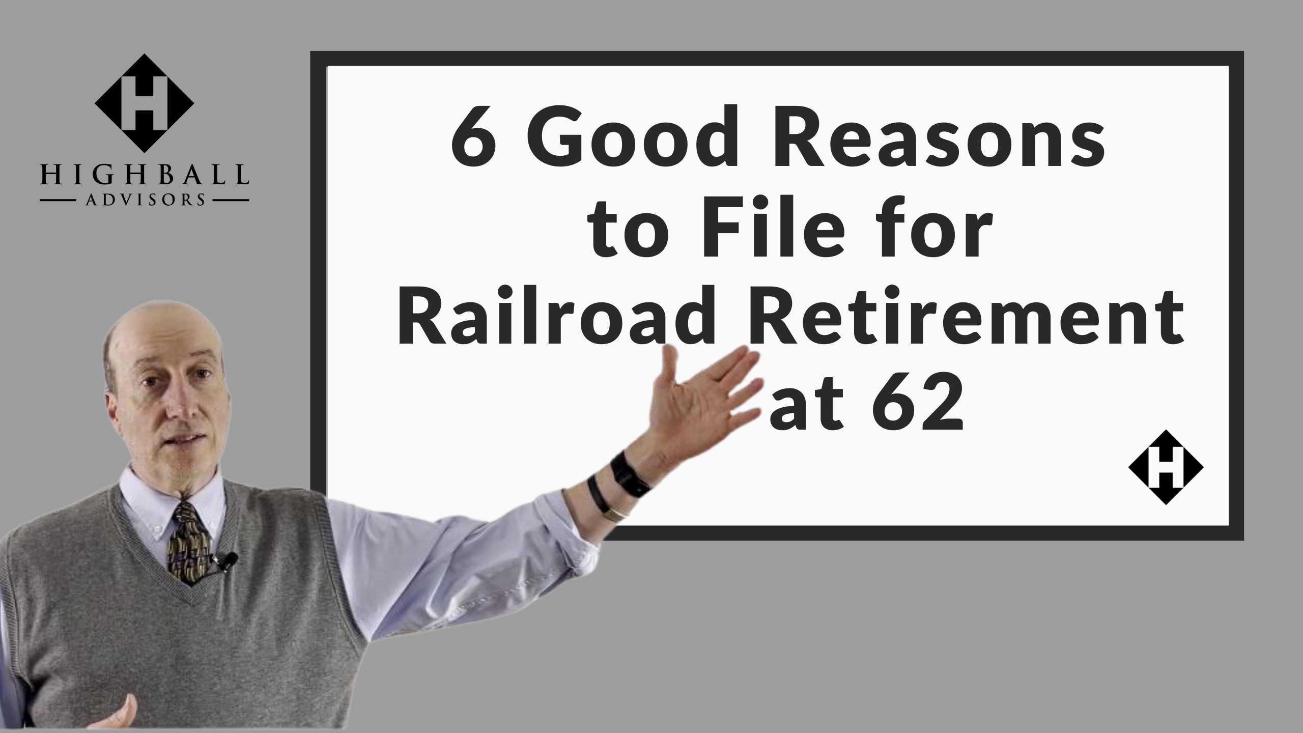 6 Good Reasons to File for Railroad Retirement at 62 Thumbnail