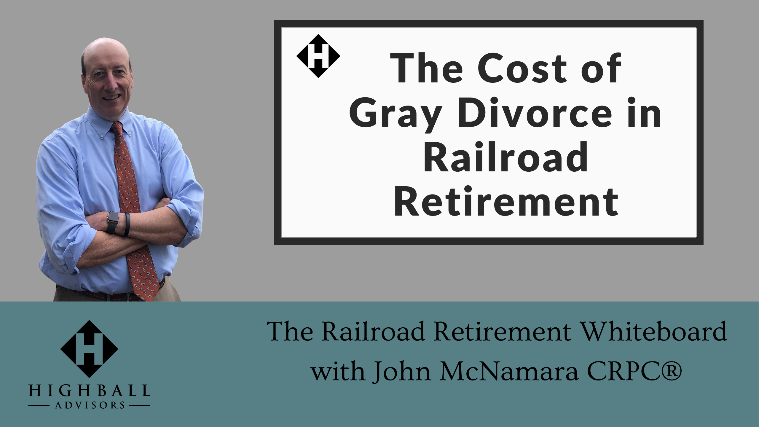 The Cost of Gray Divorce in Railroad Retirement Thumbnail