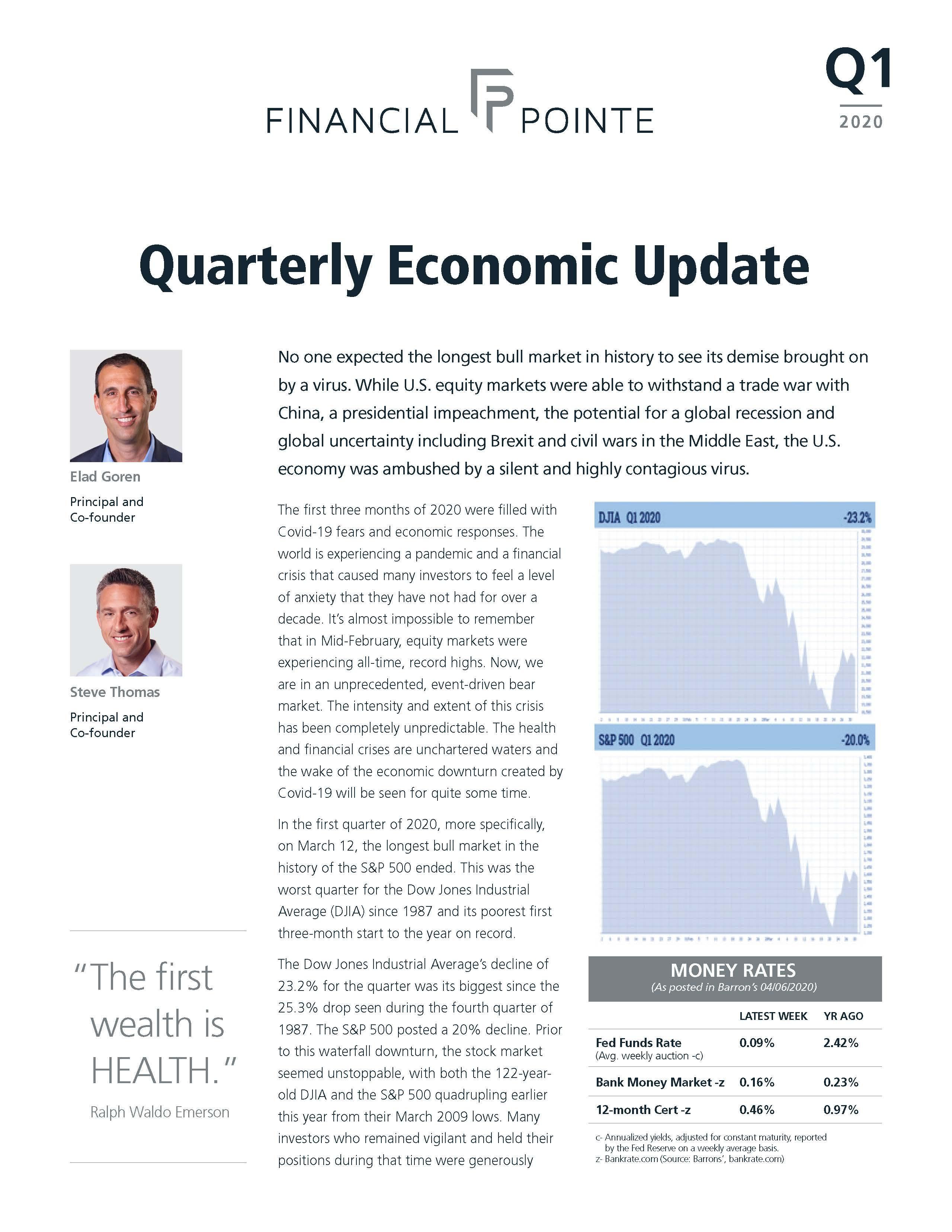 Q1 Newsletter - 2020 Thumbnail