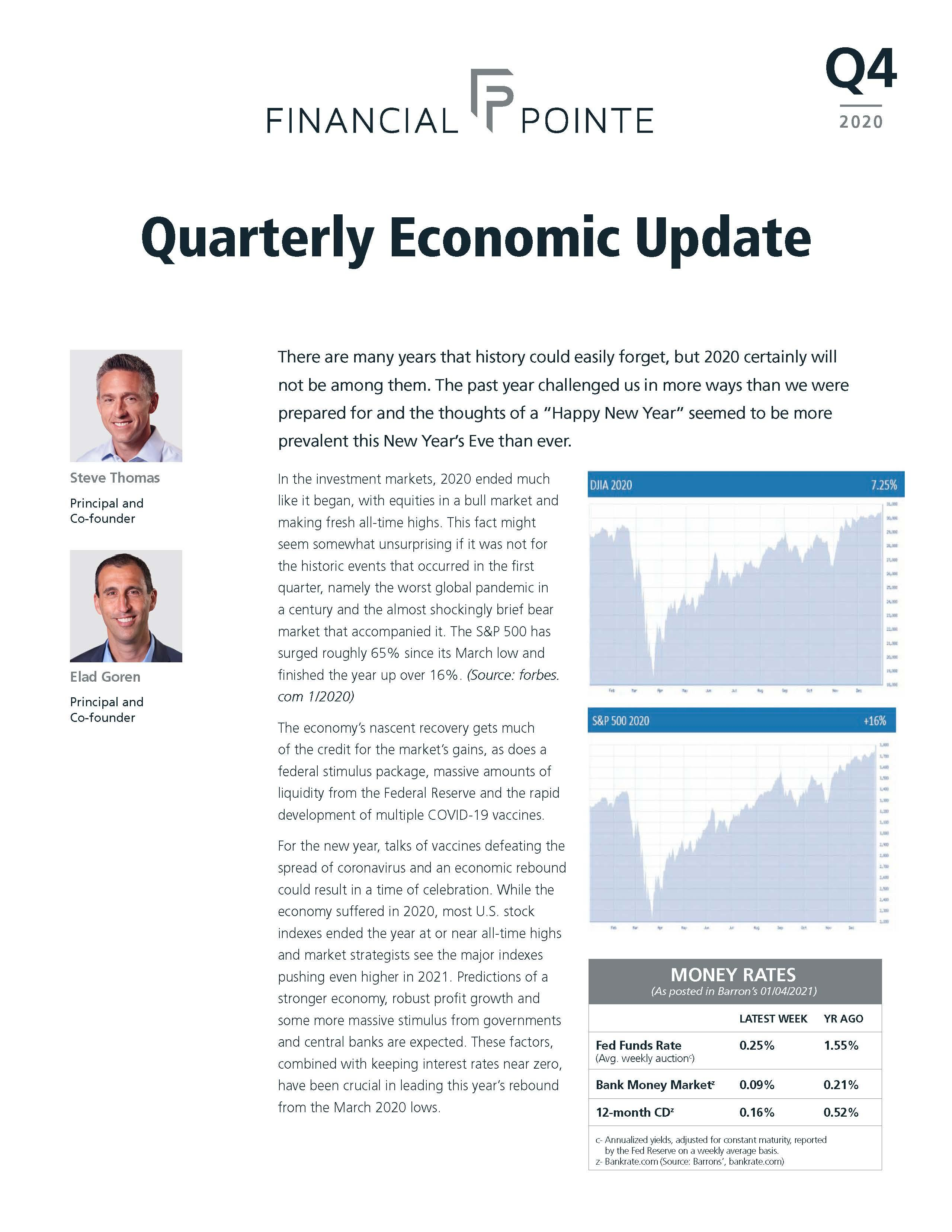 Quarterly Economic Update Q4 2020 Thumbnail