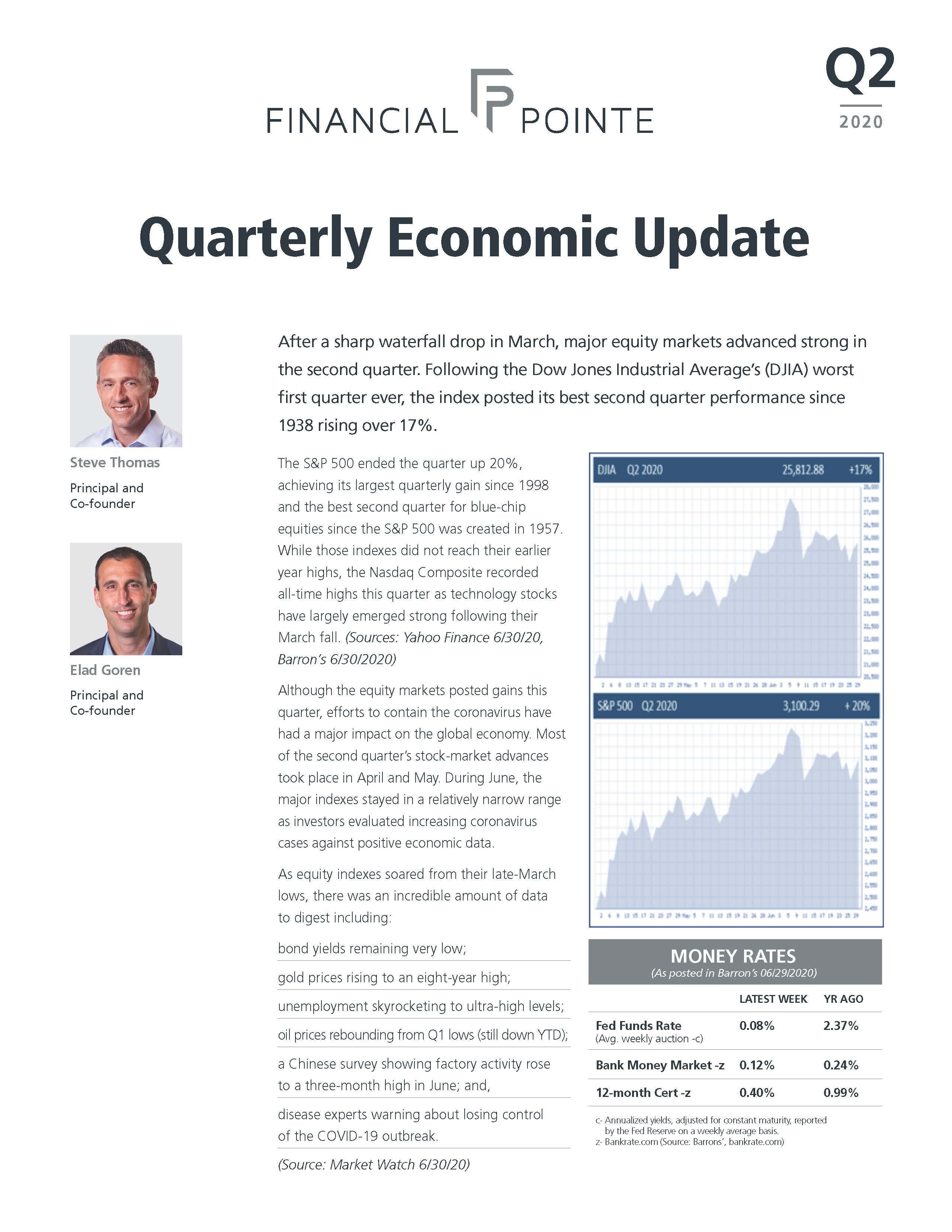 Quarterly Economic Update - Q2 2020 Thumbnail