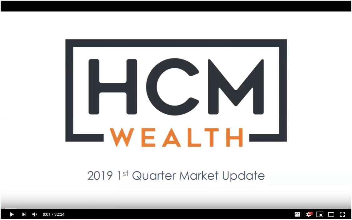 HCM Wealth | 2019 1st Quarter Market Update Thumbnail