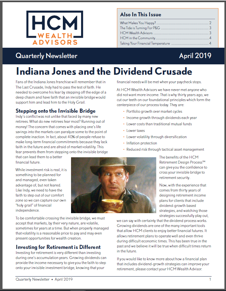 2019 April Quarterly Newsletter Thumbnail