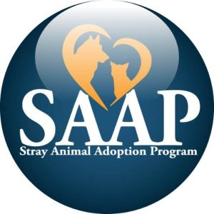 Stray Animal Adoption Program (SAAP) logo