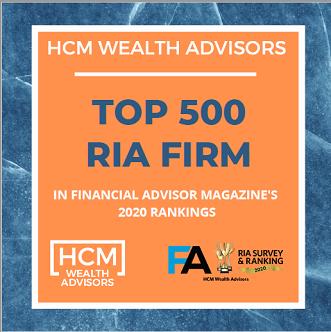 FA Magazine ranks HCM Wealth Advisors among Top 500 RIA Firms