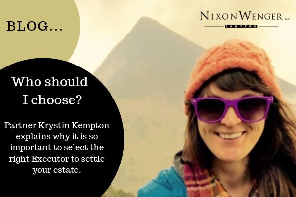 Who Should I Choose? - Provided Courtesy of Nixon Wenger Thumbnail