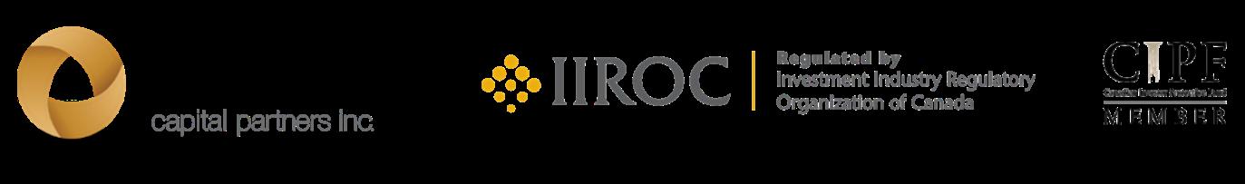 Aligned Capital Partners Logo, IIROC Logo, CIPF Logo